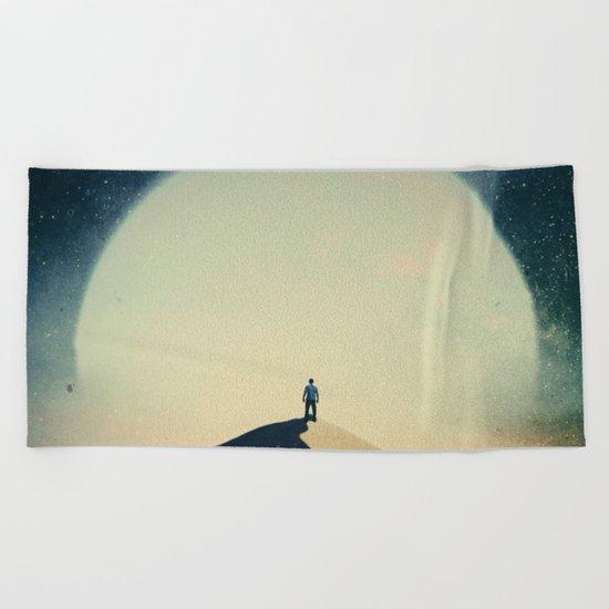 Lunatic Beach Towel