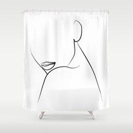 Flawless Beauty Shower Curtain