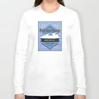 ale giorgini Long Sleeve T-shirts featuring Full Sail Barge Ale by Mike Sapora Demaine