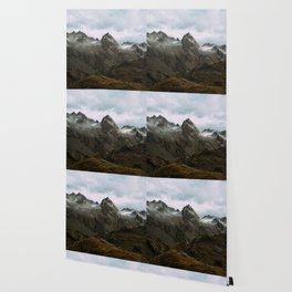 Alaskan Summer Nights in the Alpine Wallpaper