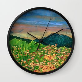 I Will Meet You There Wall Clock