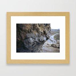 Cave Wall Framed Art Print