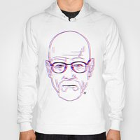 walter white Hoodies featuring Walter White by Bleachydrew