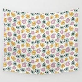 Donut Cat Wall Tapestry