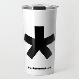 Helvetica Typoster #3 Travel Mug