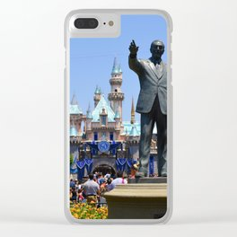 Disneyland Clear iPhone Case