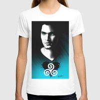 derek hale T-shirts featuring Black Heart - Derek by xKxDx