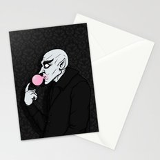 Popping Bubblegum Bubble  Stationery Cards