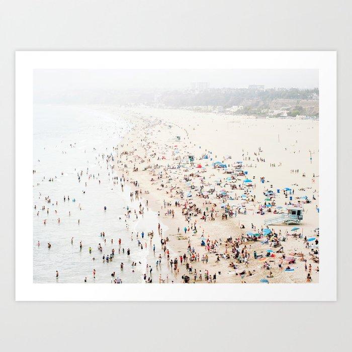 California Beach Print  Kunstdrucke