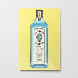 Acetone Gin Metal Print