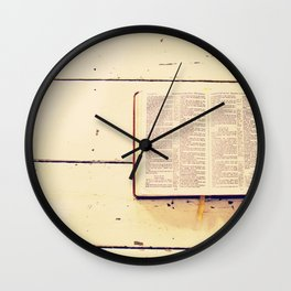 Reading the Psalms Wall Clock