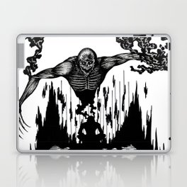 The Monster Within Laptop & iPad Skin