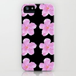 Pink Hibiscuses iPhone Case