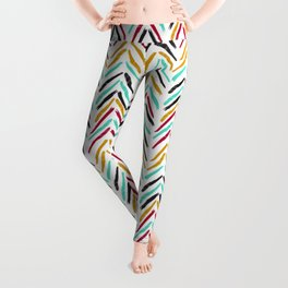 inky boho pattern  Leggings