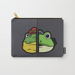 Old & New Slippy Toad Carry-All Pouch