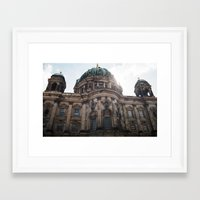 castle in the sky Framed Art Prints featuring Castle by Snail,Snail