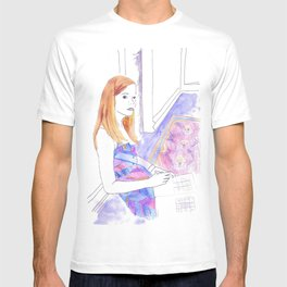 Elle Fanning, Somewhere T-shirt