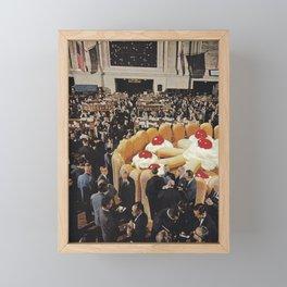 Trading Floor Framed Mini Art Print