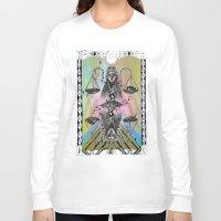 libra Long Sleeve T-shirts featuring LIBRA by Caroline Vitelli GOODIES