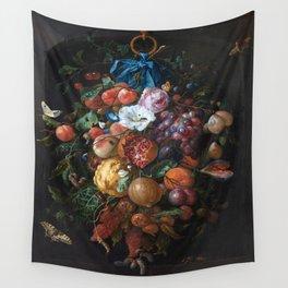 Dutch Floral Still life botanical print(digital download)PRINTABLE Art, botanical print, botanical Wall Tapestry