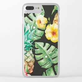 In summer Clear iPhone Case