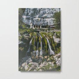 Swiss waterfall Metal Print