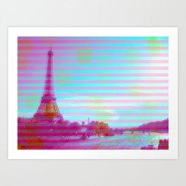 SUMMERY EYES Art Print