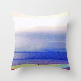 Cala Tarida-5 Throw Pillow