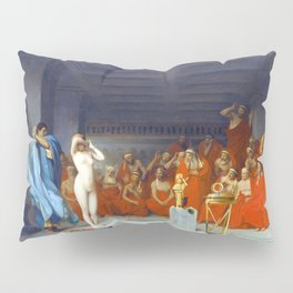 Phryne Before The Areopagus - Digital Remastered Edition Pillow Sham