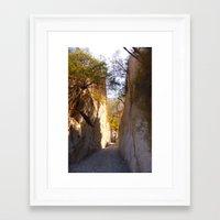 mexican Framed Art Prints featuring Mexican desert by lennyfdzz