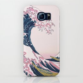 The Great Pink Wave off Kanagawa iPhone Case