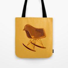 Rocker Chair Orange Tote Bag