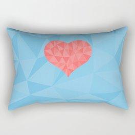 Irreducible Heart Rectangular Pillow