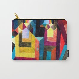 Paul Klee With the Rainbow Carry-All Pouch