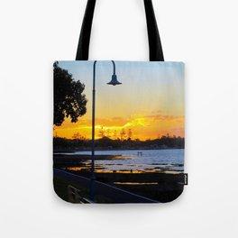 Wynnum Sunset Tote Bag