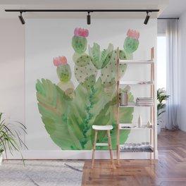 Flowering Cactus II Wall Mural