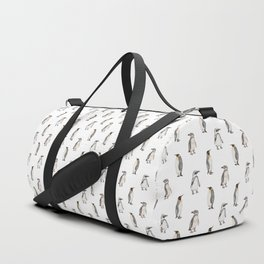 Penguin pattern Duffle Bag