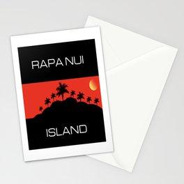 Rapa Nui Island Stationery Cards