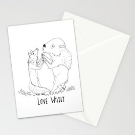 Love Wildy Stationery Cards