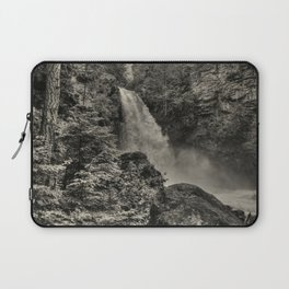 Sutherland Falls, BC - Waterfall Laptop Sleeve