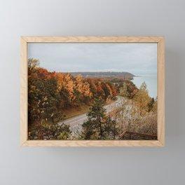 Arcadia Overlook in Fall Framed Mini Art Print