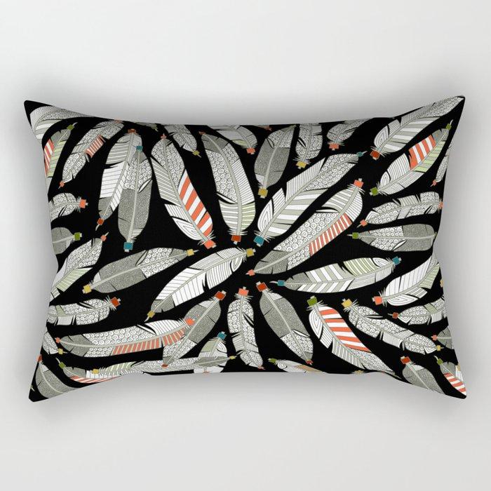 native feathers Rectangular Pillow