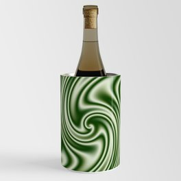 Spearmint Ribbon Candy Fractal Wine Chiller