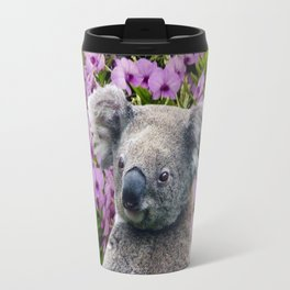Koala and Coocktown Orchids Travel Mug