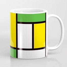Mondrian – Bycicle Coffee Mug