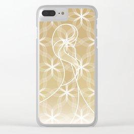 UNDO | Wedding Dress Spring Clear iPhone Case