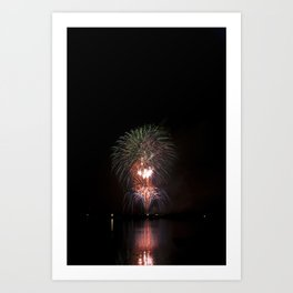 Fireworks make you wanna... (3) Art Print