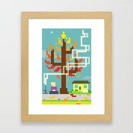 Fall Contemplation Framed Art Print
