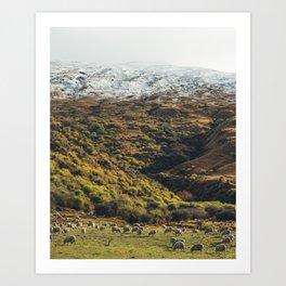 When Sheep Rule the World Art Print