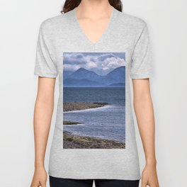 Over the Sea to Skye Unisex V-Neck